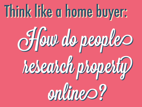How home buyers research property online