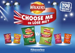 It's Crunch Time for Crisp Fans with Walkers Campaign