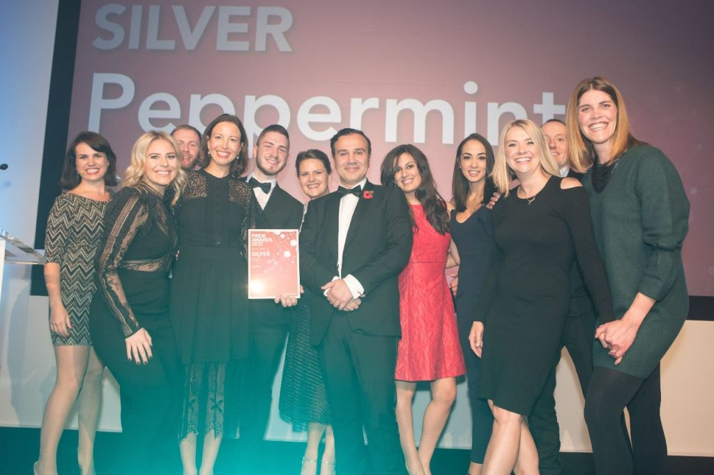 News: Hat-trick for Peppermint Soda at Industry Awards